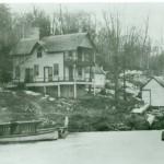 Gov House with alligator
