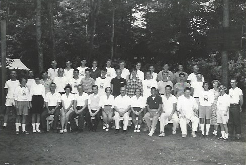 Posed group photo